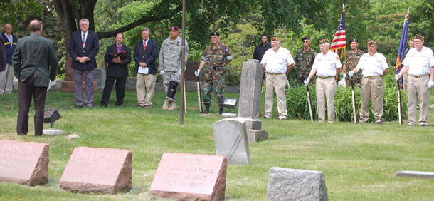 Lombard Cemetery Rededication2009